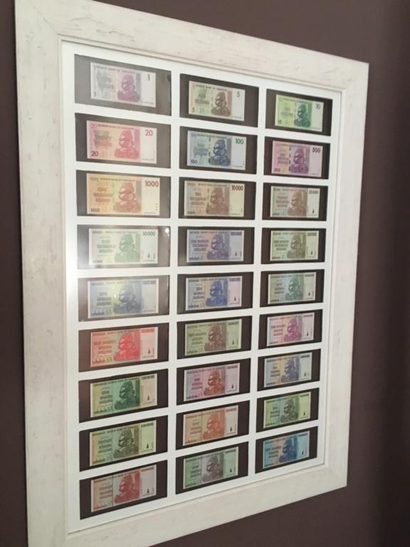 Presentación billetes, dollar Zimbabwe Df94f810