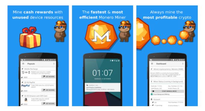 [Testar] Cash Miner - Crypto Mining (Dos criadores da CashPirate) - Android - Pagamento imediato por Paypal (Actualizado em 29/10/2017) Cashmi11