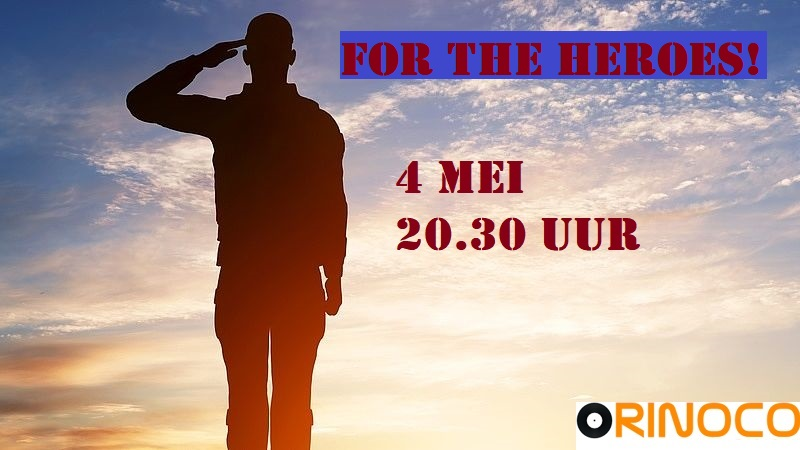4 mei: For the Heroes! Helden11
