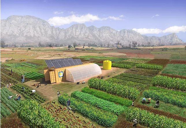Une ferme de 0.8 hectare dans un conteneur Captur22