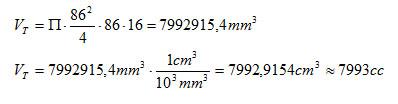 Cálculo de la cilindrada de un motor y la Relación de Compresión Cilind11