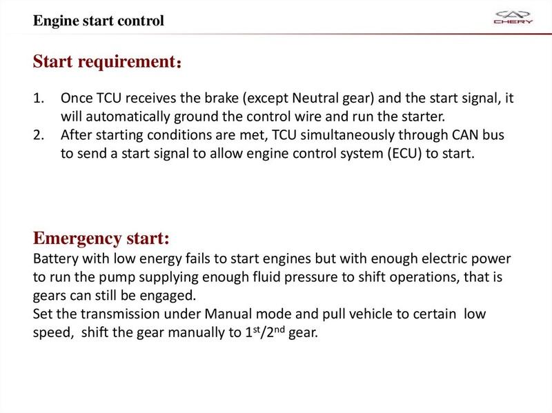 Capacitación Transmisión AMT Chery/AMT Tecnhnical Training Slide-28
