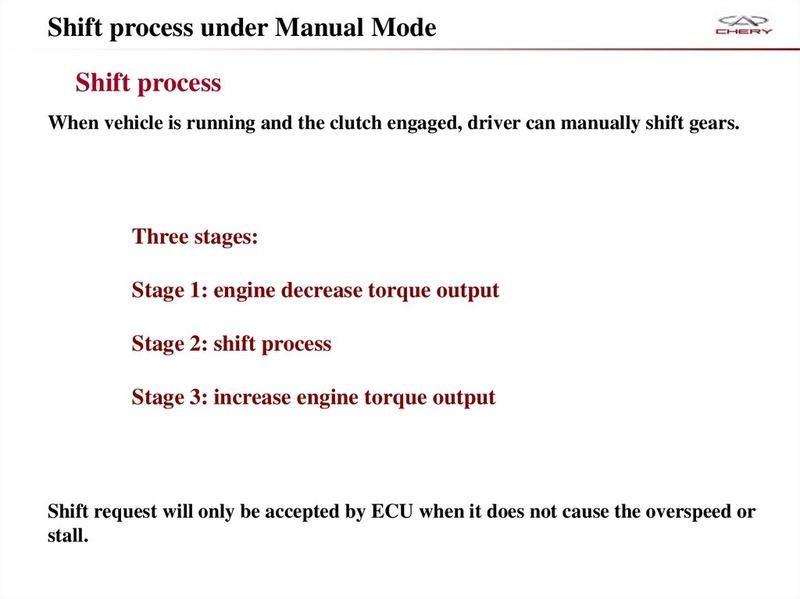 Capacitación Transmisión AMT Chery/AMT Tecnhnical Training Slide-30