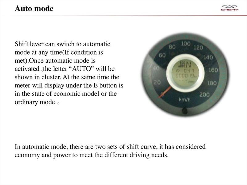 Capacitación Transmisión AMT Chery/AMT Tecnhnical Training Slide-32