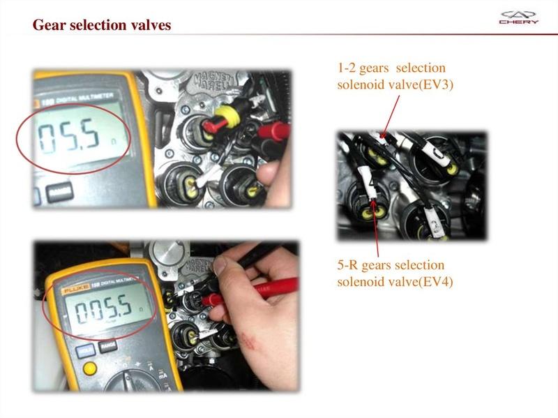 Capacitación Transmisión AMT Chery/AMT Tecnhnical Training Slide-55