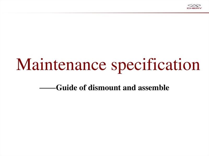 Capacitación Transmisión AMT Chery/AMT Tecnhnical Training Slide-62