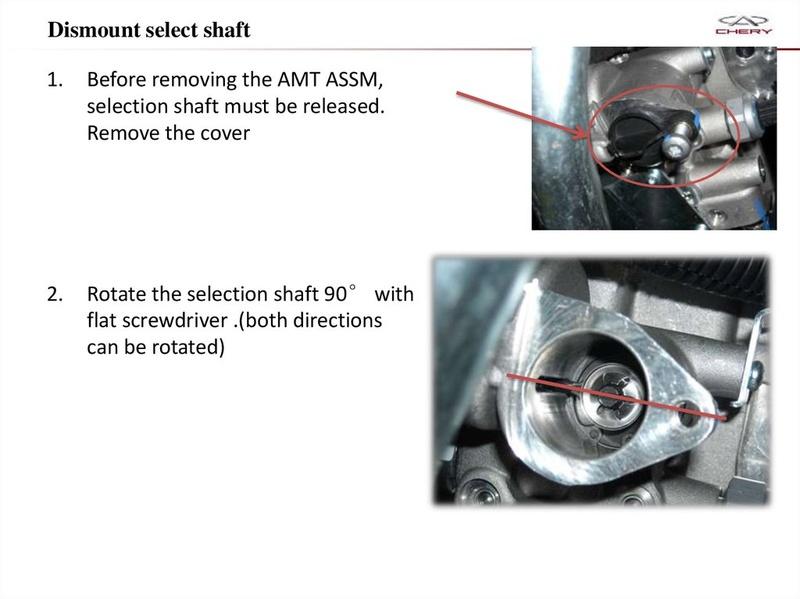 Capacitación Transmisión AMT Chery/AMT Tecnhnical Training Slide-64