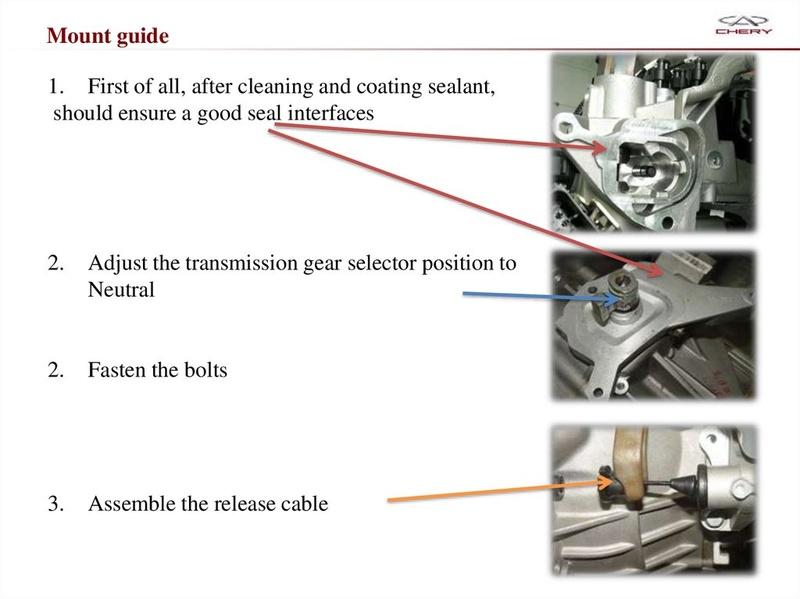 Capacitación Transmisión AMT Chery/AMT Tecnhnical Training Slide-65