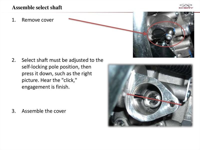 Capacitación Transmisión AMT Chery/AMT Tecnhnical Training Slide-66
