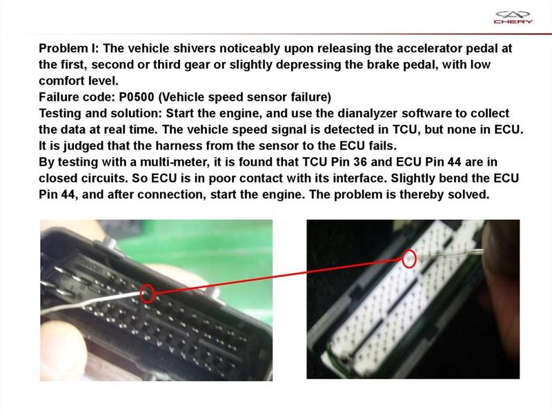 Capacitación Transmisión AMT Chery/AMT Tecnhnical Training Slide-70