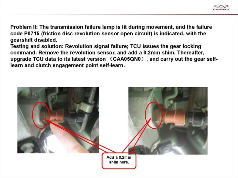 Capacitación Transmisión AMT Chery/AMT Tecnhnical Training Slide-71