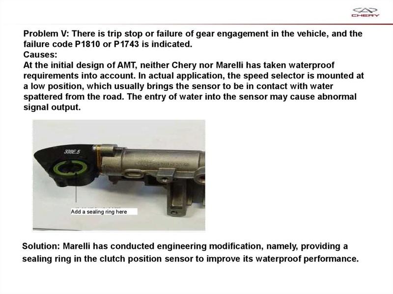 Capacitación Transmisión AMT Chery/AMT Tecnhnical Training Slide-75