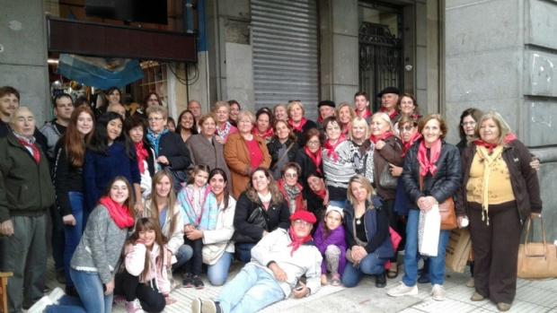 Buenos Aires celebra el País Vasco en la Avenida de Mayo 00126