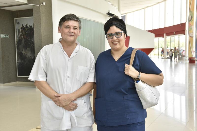 curso - Malvinas Argentinas: Brenda, la joven que cayó del tren, retomará curso de cirugía. _car3810