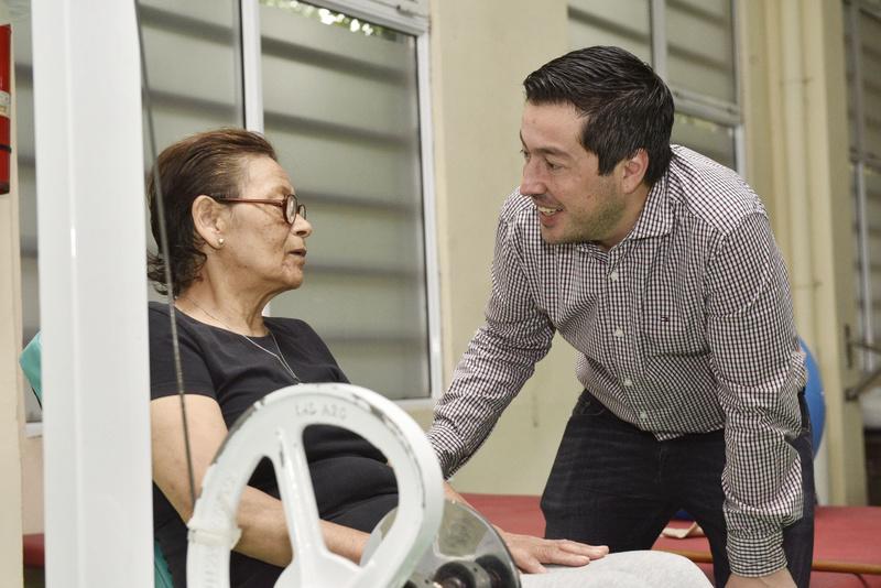 Malvinas Argentinas: Nardini visitó el hospital de rehabilitación _car7711