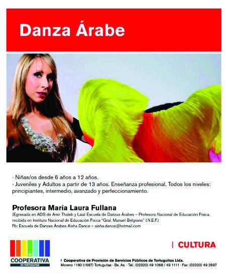 Ahora en Malvinas Argentinas. Aisha Dance. Aviso_53
