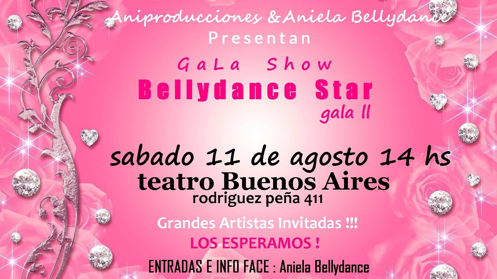 Llega nuevamente Bellydance Stars. Gala II con grandes artistas en escena. Bellyd10
