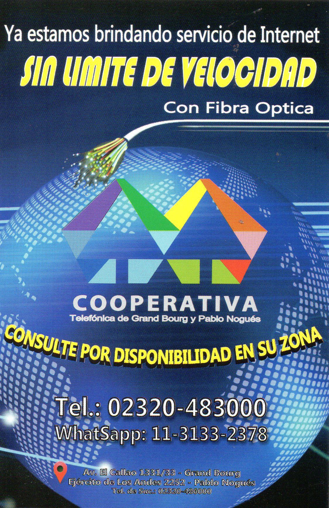 Si de servicios se trata... Cooperativa Telefónica de Grand Bourg y Pablo Nogués. Cooper18
