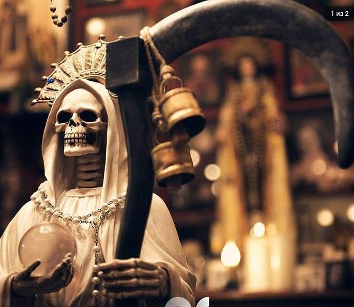 Santa Muerte Tarot. Введение Screen25