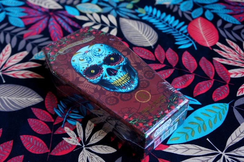 Обзор Santa Muerte Tarot, часть первая Xanhma11