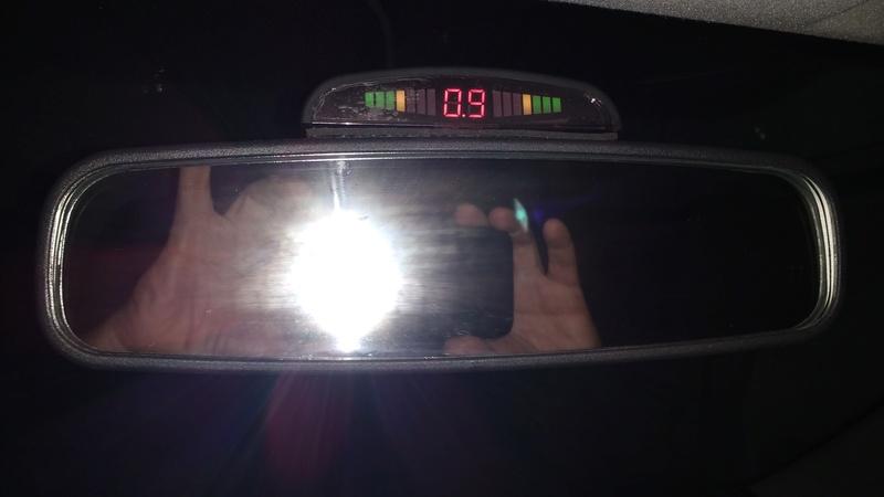 Agregar Sensores y camara de estacionamiento 14872010