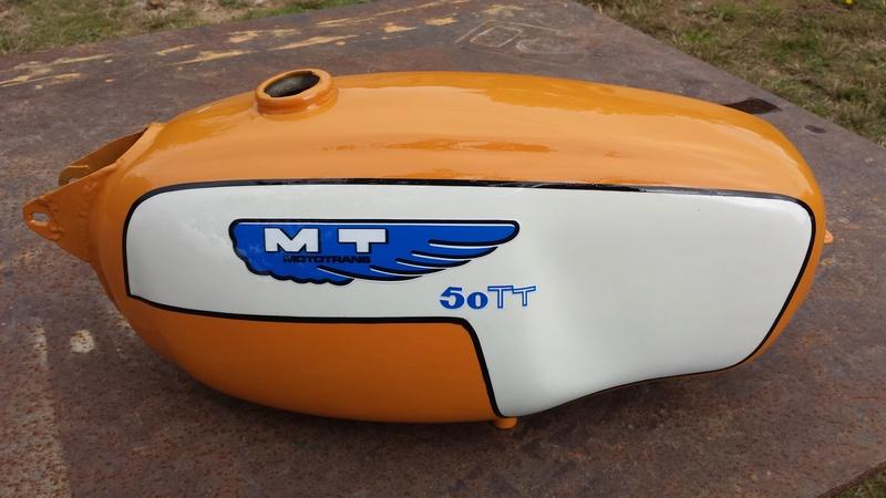 ducati - Ducati MT 50 TT Reparar 20161110