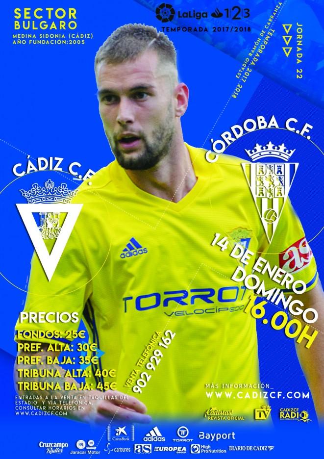 [J22] Cádiz C.F. - Córdoba C.F. - Domingo 14/01/2018 16:00 h. Cyydiz15