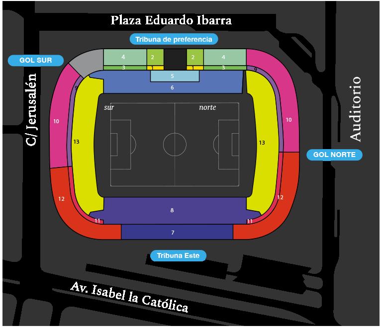 [J18] R. Zaragoza - Cádiz C.F. - Sábado 09/12/2017 20:30 h. Plano10