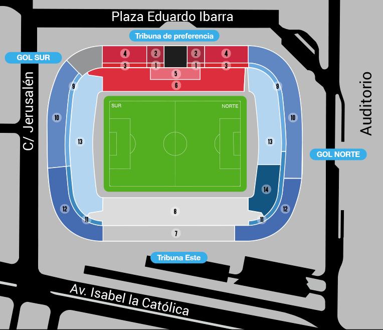 [J16] R. Zaragoza - Cádiz C.F. - Viernes 30/11/2018 21:00 h. Plano11
