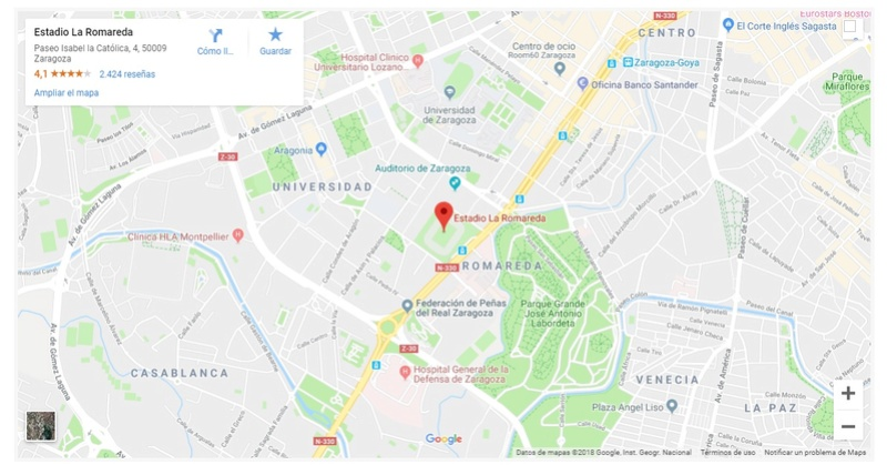 [J16] R. Zaragoza - Cádiz C.F. - Viernes 30/11/2018 21:00 h. Situac10