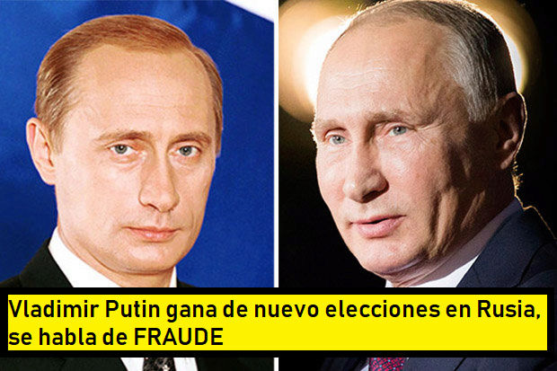 PUTIN GANA NUEVAMENTE LAS ELECCIONES Putin10