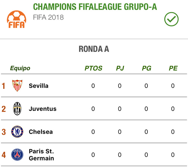 CHAMPIONS FIFALEAGUE GRUPO-A Fa564610