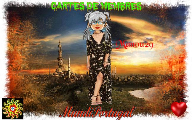 CARTES DE MEMBRES MANOU29 Manou211