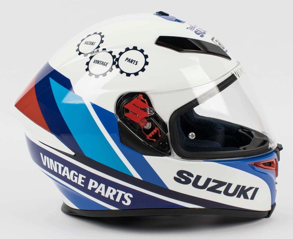 Decoración oficial de casco del Team Suzuki Classic 23415310