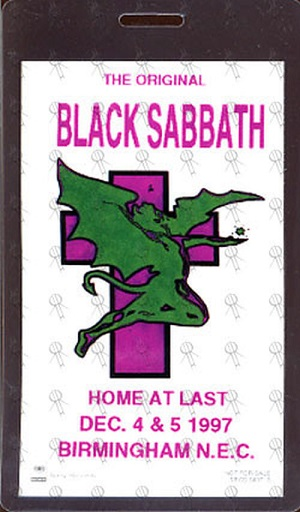 Black Sabbath: Reunion, 1998 (p. 37) - Página 20 97pass11