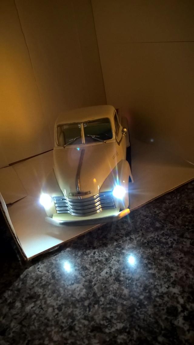 Reconstrucción y modificación de pickup Chevrolet 1953 Welly 1/24   Wp_20152