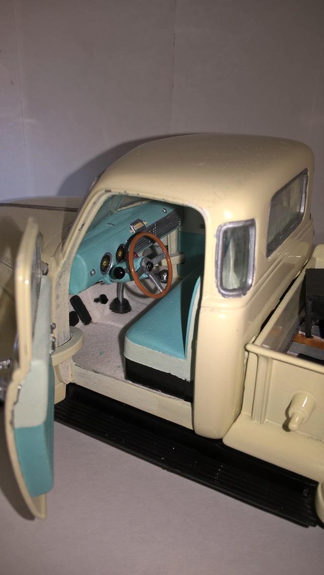 Reconstrucción y modificación de pickup Chevrolet 1953 Welly 1/24   Wp_20154
