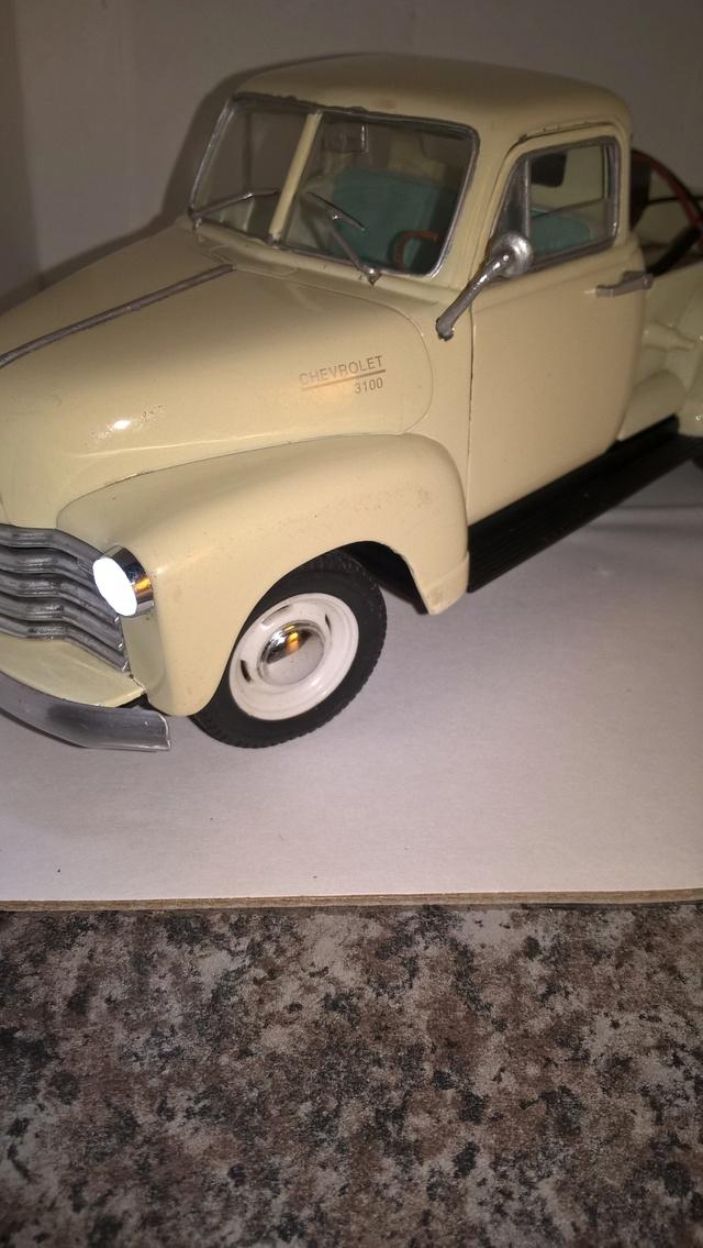 Reconstrucción y modificación de pickup Chevrolet 1953 Welly 1/24   Wp_20155