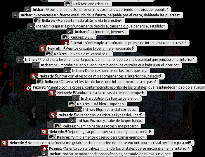[Roleo de Arkania] Sable Láser Rojo 613