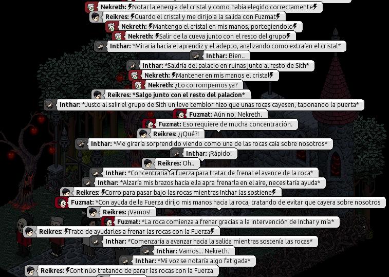 [Roleo de Arkania] Sable Láser Rojo 810