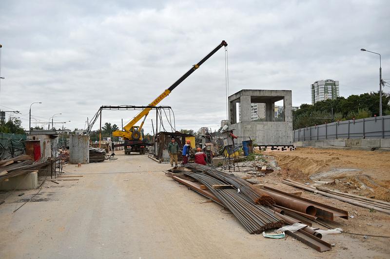 """Новая станция метро """"Селигерская"""" (1,4 км от ЖК """"Летний сад"""") - почти готова! Финальные фото строительства 161d5b10"""