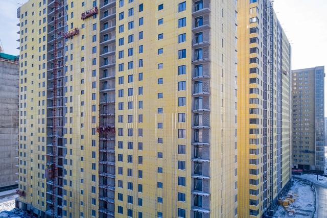 """На ЖК """"Летний сад"""" - начался монтаж фасадных конструкций! Теплозвукоизоляция под ними - лучше, чем у соседнего ЖК """"Город"""" - Страница 4 613"""