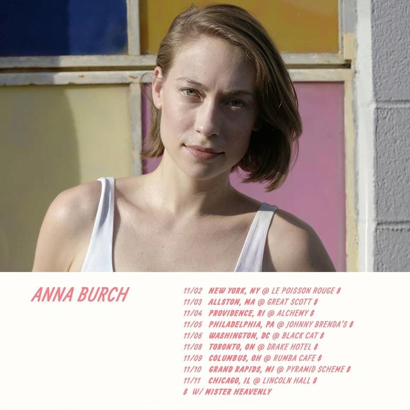 """Anna Burch - Bummer Pop, Rock Alternativo - Detroit - """"Quit the Curse"""" (2018) 22491510"""