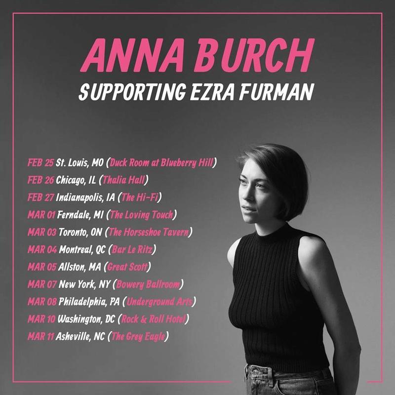 """Anna Burch - Bummer Pop, Rock Alternativo - Detroit - """"Quit the Curse"""" (2018) 28279010"""