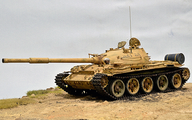 Т-62. Мод. 72 г. ЧУГУН-АРБА… 00510