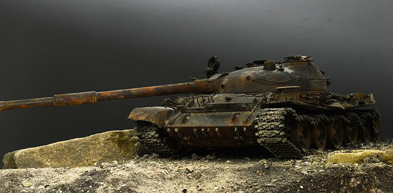 Т-62… мод. 72-года… ЖЁСТКИЙ ВЕТЕР АФГАНА…  01219