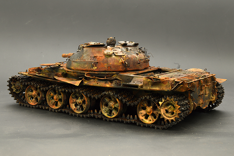 Т-62… мод. 72-года… ЖЁСТКИЙ ВЕТЕР АФГАНА…  01920