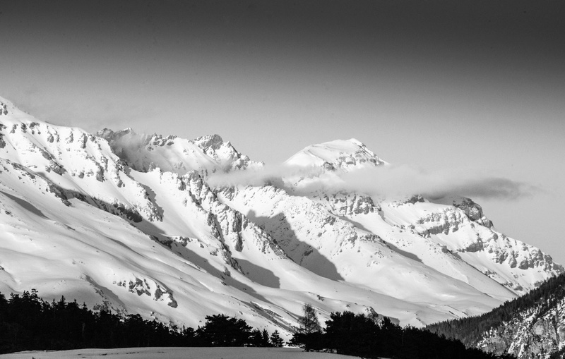 neige  en noir et blanc  Expos111
