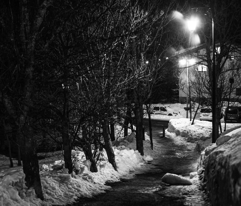 neige  en noir et blanc  Expos112