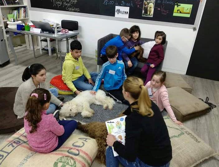 Taller de lectura con perros 2 de Marzo 20180312